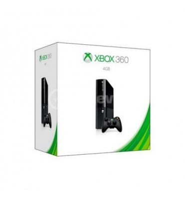 Console Xbox 360 E 4Gb Stingray Black - + 1 Month Membership