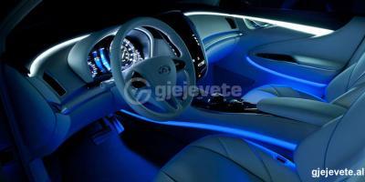 LED interior per makina