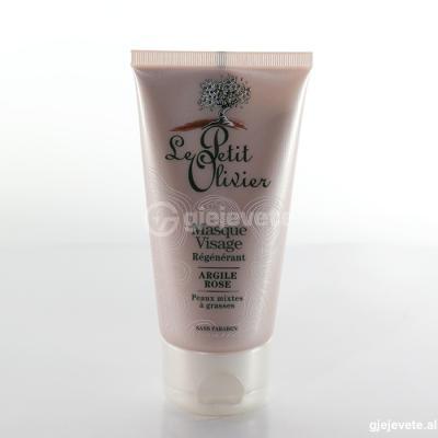 Le Petit Oliver Masque Visage Argile Rose. 75 ml.