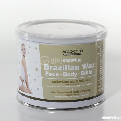 Arcocere Brazilian Wax Face-Body-Bikini 400ml.
