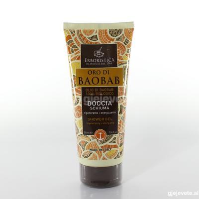L'Erboristica  Doccia Schuma Oro di Baobab. 200 ml.