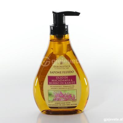 L'Erboristica Sapone Fluido  Olio Di Macadamia & Burro Di Karite. 250 ml.