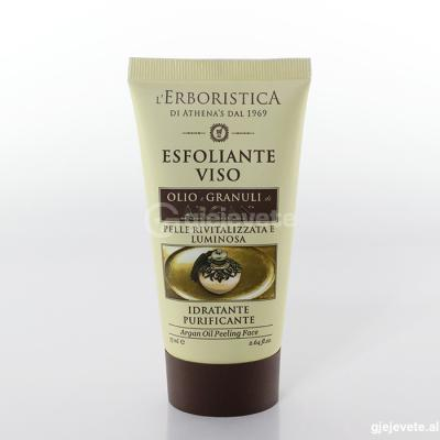 L'Erboristica Esfoliante Viso Olio di Argan.75 ml.