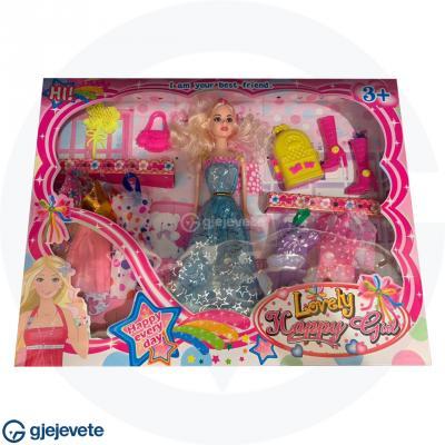 Kukulla Barbi Me Aksesore