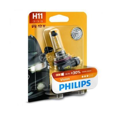 Llampe Philips Vision H11 12V 55W +30% Per Makine