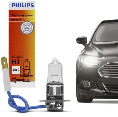 Llampe Philips Vision H3 12V 55W +30% Per Makine