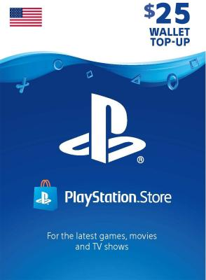DG PlayStation 25 Dollar Account US
