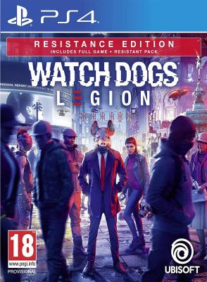 PS4 Watch Dogs Legion Resistance Edition