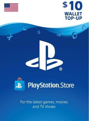 DG PlayStation 10 Dollar Account US