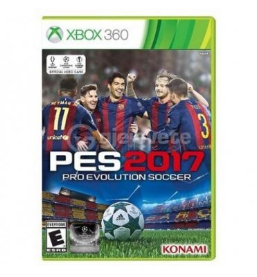 Xbox 360 Pro Evolution Soccer 2017