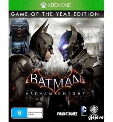 Xbox One Batman Arkham Knight Goty