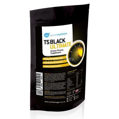 T5 BLACK ULTIMATE STIMULUES FIZIK DHE MENDOR PER PALESTER DHE STERVITJE - 30 KAPSULA