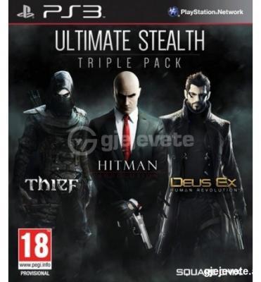 Ps3 Ultimate Stealth Triple Pack (Deus Ex Human Revolution. Hitman & Thief)
