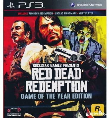 Ps3 Red Dead Redemption Goty Essentials