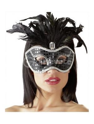 Maske me Pende Black