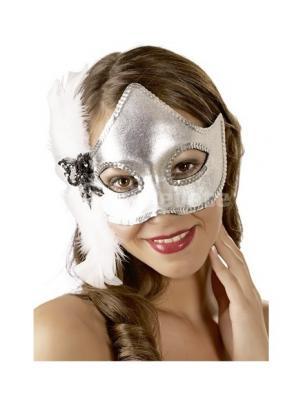 Maske Fytyre me Pende Silver